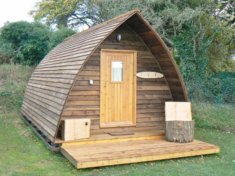 Glamping In Cornwall Wigwam Cabins Glamping Pods