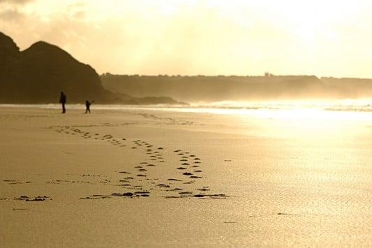 Beaches in Cornwall near Tehidy Holiday Park