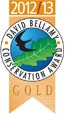 David Bellamy Gold Award 2012/13