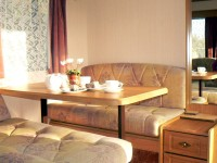 Caravan accommodation ideal for couples