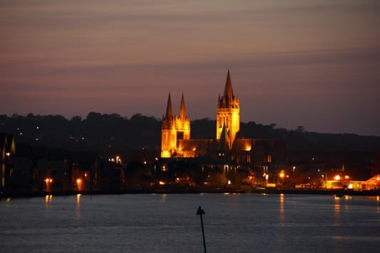truro at sunset