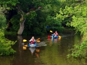 lerryn creek canoeing