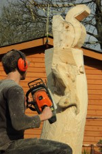 squirrel carving 3