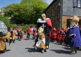Bolster Day festival in Cornwall