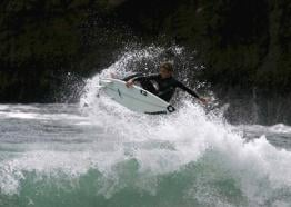 National surfing Championships at Watergate Bay