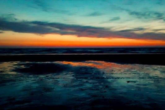 Porthtowan Beach just minutes from Tehidy Holiday Park