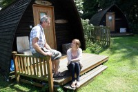glamping in cornwall at tehidy