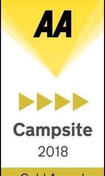 AA Caravan and Camping Gold Pennant Award 2018