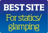 Tehidy voted best site for statics and glamping 2019