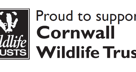 Pround to support the Cornwall Wildlife Trust